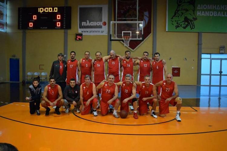 Σύλλογος Βετεράνων Ολυμπιακού: Μπάσκετ για την «Τράπεζα Αίματος Δημήτρης Βλων»
