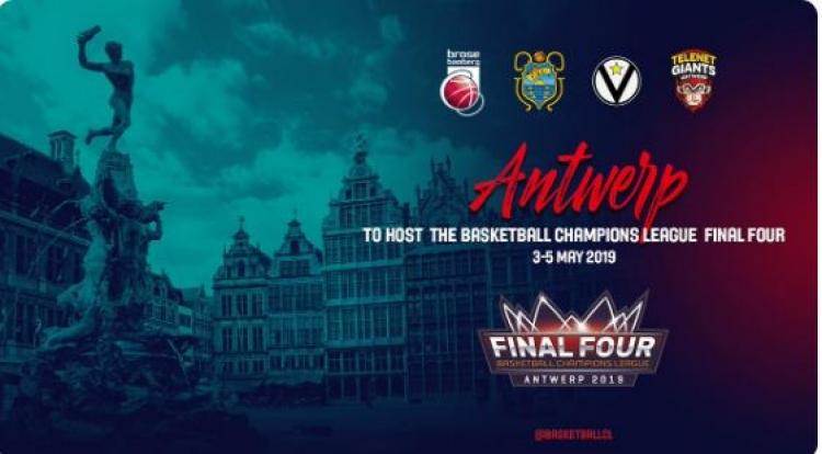 Στην Αμβέρσα το Final Four του Champions League