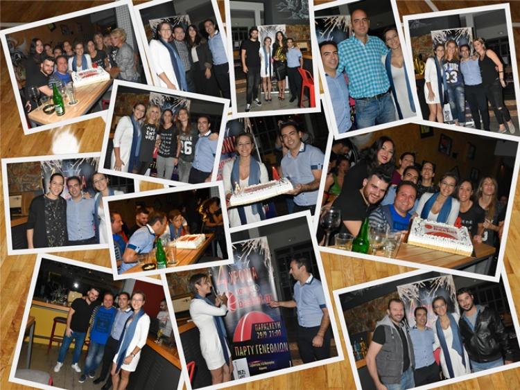 Το πάρτι γενεθλίων του agapotobasket.gr! (pics)