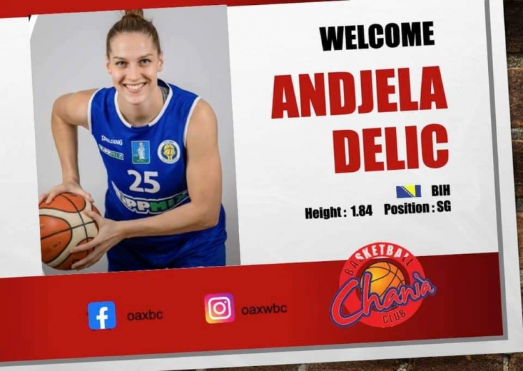 Ανακοίνωσαν την Andjela Delic τα Χανιά