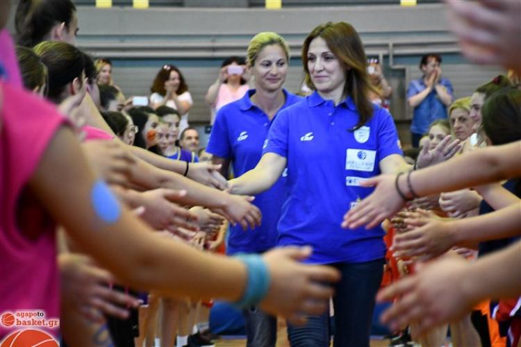 Βραβεύτηκε η Εθνική Κωφών Γυναικών στο 3ο We Love Basketball (pics)