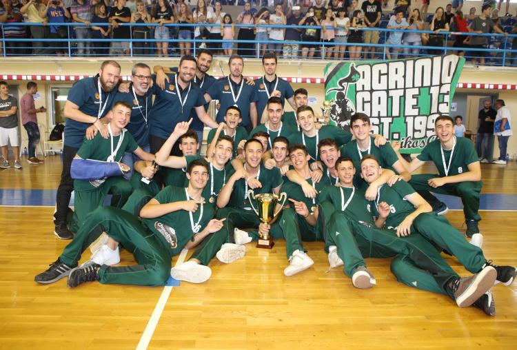 Πρωταθλητής Ελλάδος Παίδων ο Παναθηναϊκός