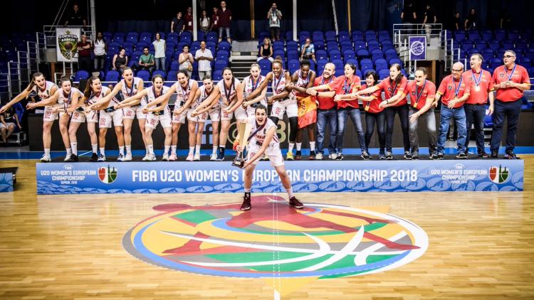 Νέες Γυναίκες: Πρωταθλήτρια Ευρώπης η Ισπανία, στην καλύτερη 5αδα η Ιβάνα Ράτσα (pics-video)