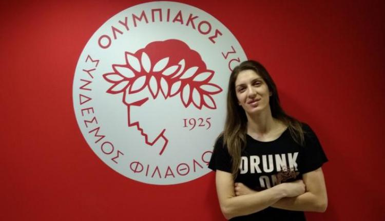 Στον Ολυμπιακό και την επόμενη σεζόν η Άννα Σπυριδοπούλου