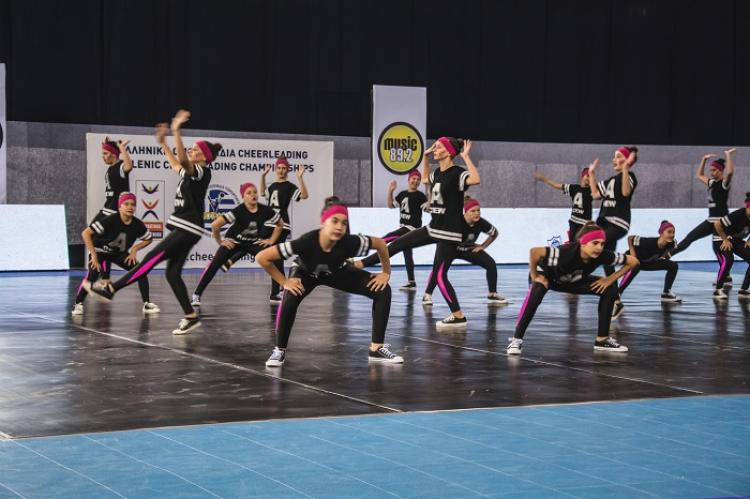ΑΓΟΠ Μυρτάλη και Αμαζόνες ξεχώρισαν στο 2ο Πανελλήνιο Πρωτάθλημα Cheerleading