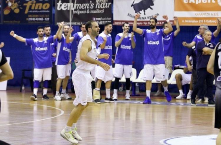 Στην Basket League ο Χολαργός!