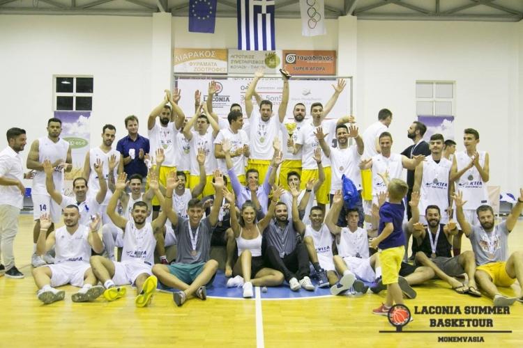 4o Laconia Summer Basketour και 30ο Τζαμπολ Αγάπης από 3 έως 10 Αυγούστου