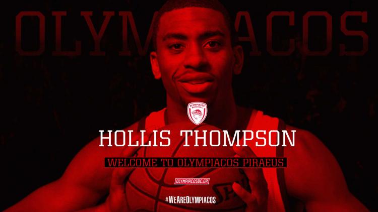 Παίκτης του Ολυμπιακού ο Κιθ Χόλις Τόμπσον