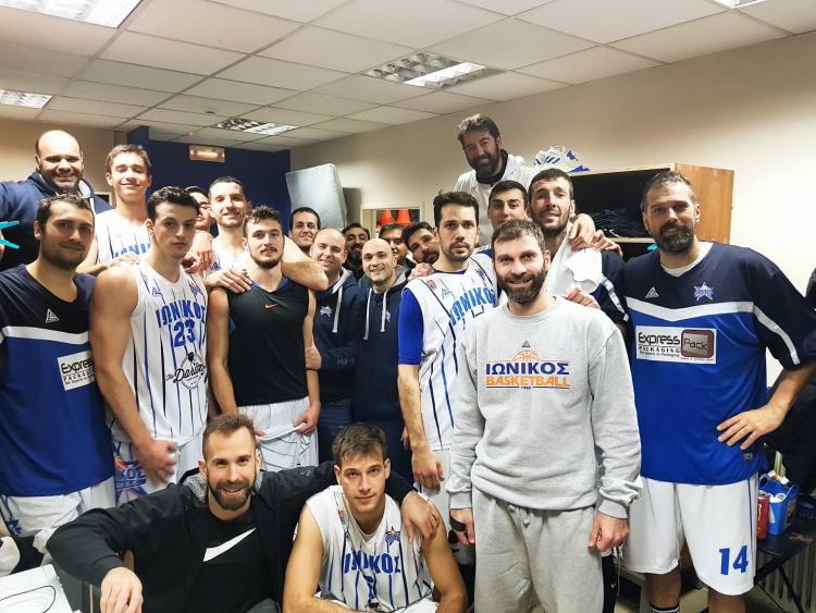 Β΄Εθνική: Πρωταθλητές χειμώνα, Ιωνικός και Χαρίλαος Τρικούπης
