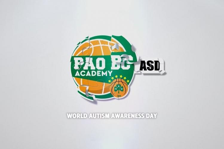 Τμήμα μπάσκετ για παιδιά στο φάσμα του Αυτισμού από την PAO BC Academy