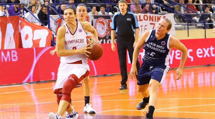 Οι παίκτριες που ξεχωρίζει η FIBA από τον όμιλο του Ολυμπιακού