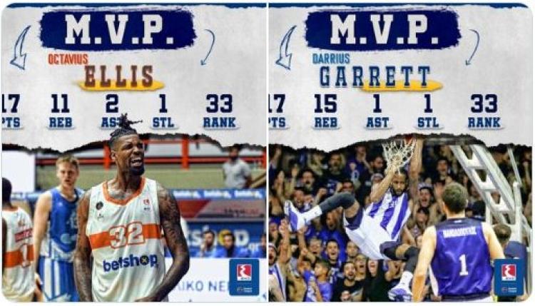 Οι δύο MVP και οι κορυφαίοι των στατιστικών