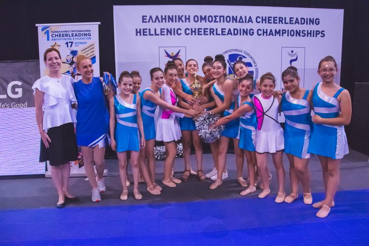 To Ελληνικό Cheerleading στα διεθνή πρότυπα