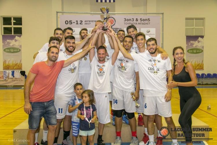 Laconia Summer Basketour: Πρωταθλητής για δεύτερη χρονιά ο ΑΠΟΕΛ
