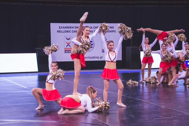 To Cheerleading ανεβαίνει στην κορυφή με το Olympus 2018