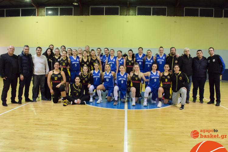 Έπαιξαν μπάσκετ για καλό σκοπό ΑΕΚ Περιστερίου και Εθνική Ενόπλων (pics-video)