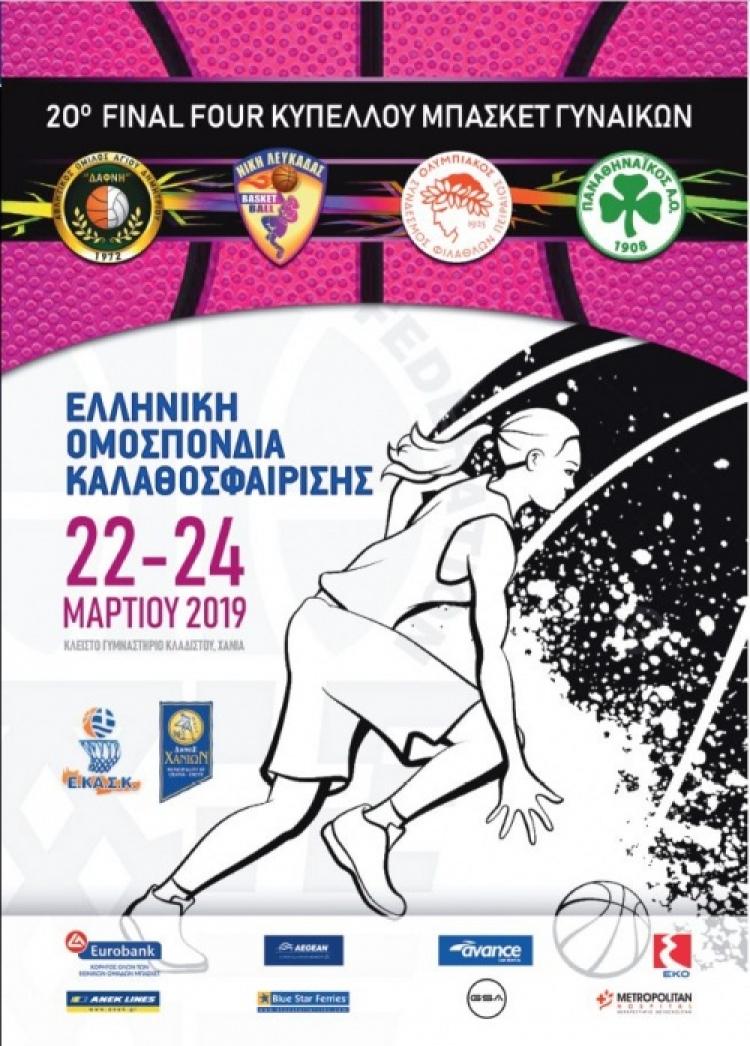 Κύπελλο Γυναικών: Το πρόγραμμα του Final-4