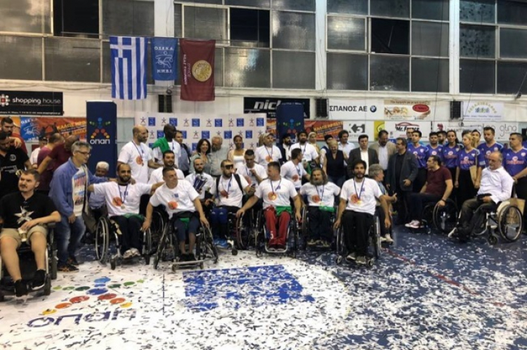 Πρωταθλητής Ελλάδος ο Άτλας