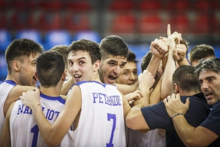 Εθνική Παίδων: Ελλάδα-Λιθουανία στο πρώτο νοκ άουτ παιχνίδι