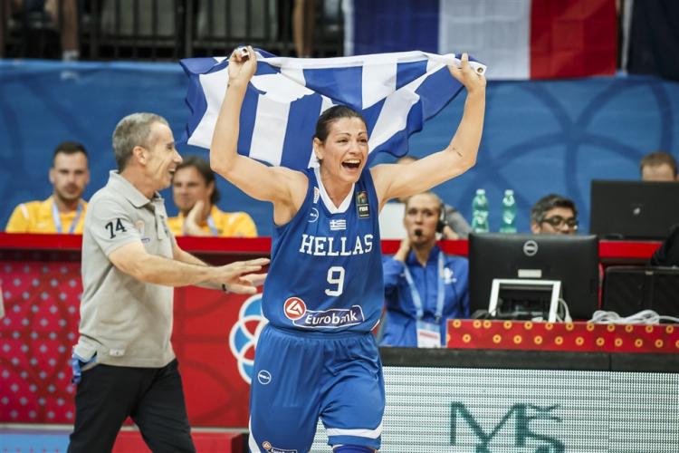 Η FIBA αποθεώνει εκ νέου την Εβίνα Μάλτση