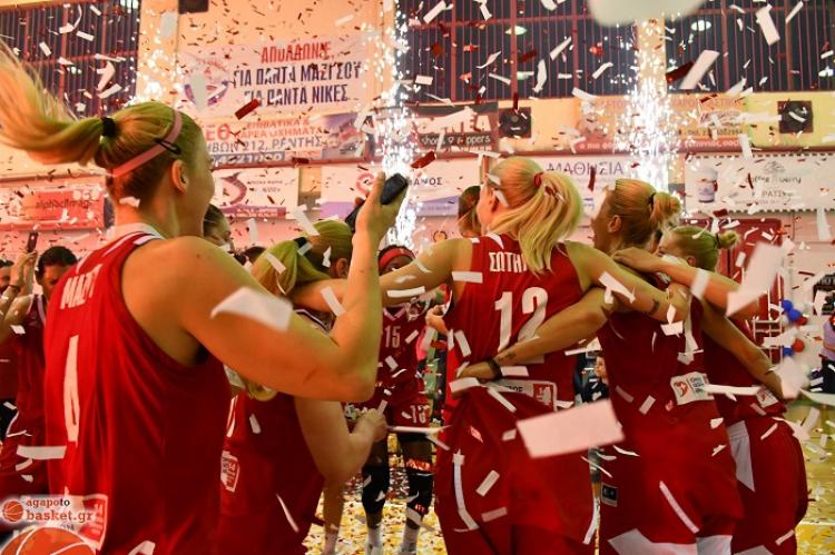 Α1 Γυναικών: Αήττητος νταμπλούχος ο Ολυμπιακός!