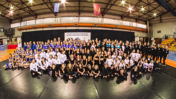Η Θεσσαλονίκη γνώρισε το Cheerleading  και το άθλημα την Συμπρωτεύουσα