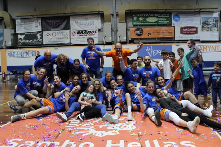 Α' ΕΣΚΑ Γυναικών: Πρωτάθλημα και άνοδος για τον Αμύντα!