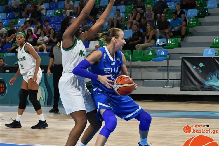 Στέλλα Καλτσίδου: «Υπερηφάνεια γιατί δείξαμε στο γήπεδο τι σημαίνει ελληνική ψυχή»