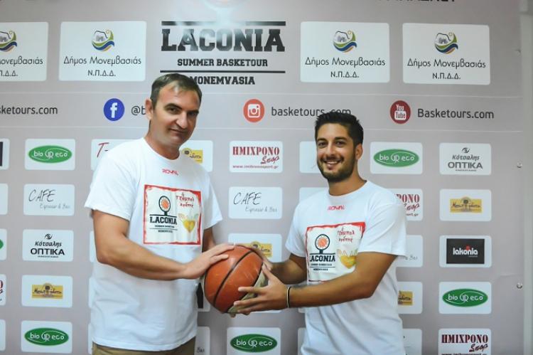 «Το Laconia Summer Basketour τείνει να γίνει θεσμός»