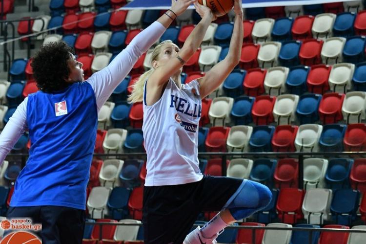 Εθνική Γυναικών: Ζωντανά το παιχνίδι Ισραήλ-Ελλάδα