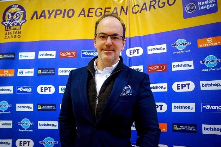 """Γιάννης Ψαρράκης: """"Δεν μας παραχωρεί τη θέση της η Κύμη, παραμένει στην Α1"""""""