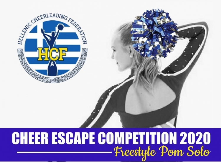 Cheer Escape Competition 2020 Freestyle Pom Solo