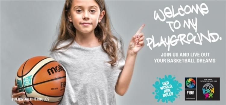 """Το πρόγραμμα της FIBA """"Her world, her rules"""" στην Κρήτη"""