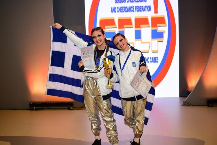 Σάρωσε η Ελλάδα στην Ευρωπαϊκή Cheer League για το 2019