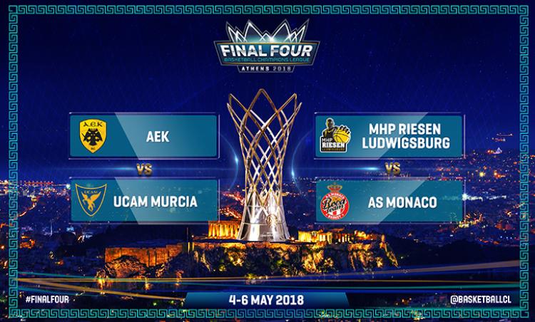 Με Μούρθια η ΑΕΚ στον ημιτελικό του Champions League