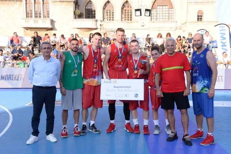 Τα αδέρφια Αγραβάνη σήκωσαν την κούπα με την ομάδα «Rodos Palace» στον τελικό των VIP!