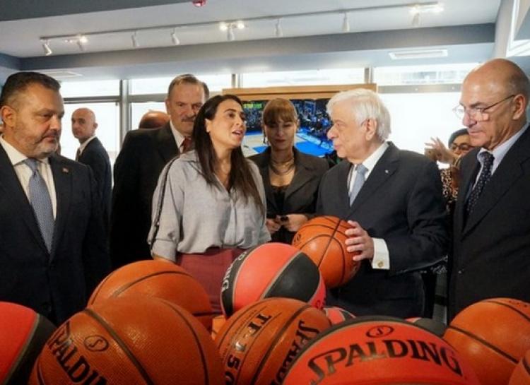 Η Τελετή εγκαινίων της νέας πτέρυγας του Μουσείου Μπάσκετ της ΧΑΝΘ